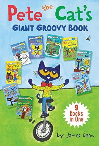 Pete the Cat's Giant Groovy Book: 9 I Can Reads in 1 Book (My First I Can Read) por James Dean