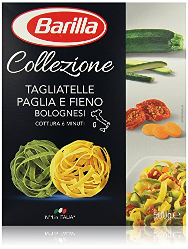 Barilla Pasta Nudeln La Collezione Tagliatelle Paglia e Fieno, 500 g