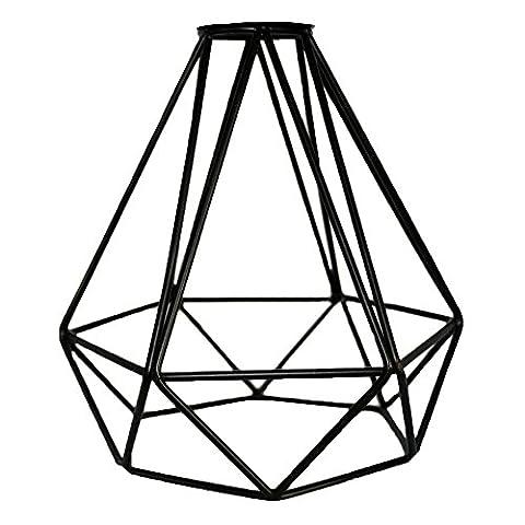 Frideko Vintage Industrial DIY Black Metal Bird Cage Lamp Shade