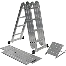 Escalera andamio for Escaleras aluminio amazon