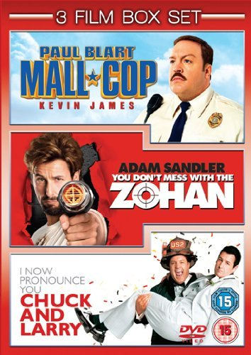 Paul Blart: Mall Cop / You Don'T Mess With The Zohan / I Now Pronounce You Chuck and Larry [3 DVDs] [UK Import]