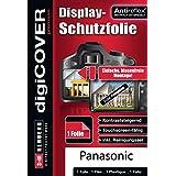 Digicover Hybrid glas Film de protection d'écran pour Panasonic DMC G70 Transparent