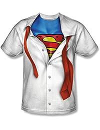 DC Comics I'm Superman Sublimated White Adult T-Shirt