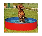 #4: FurryFriends Foldable Dog Pool - Folding Dog / Cat Bath Tub - Collapsible Pet Spa Whelping Box Christmas Gift (Large (50