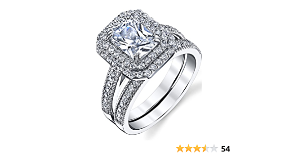 Details about  /Emerald cut sterling silver 925 Engagement ring UK seller