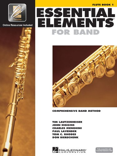 Essential elements for band - book 1 with eei flûte traversiere+enregistrements online