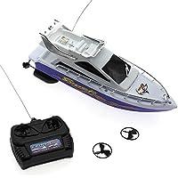 VANKER Velocidad Vanker plástico de los niños mini RC de control remoto barco juguetes eléctricos
