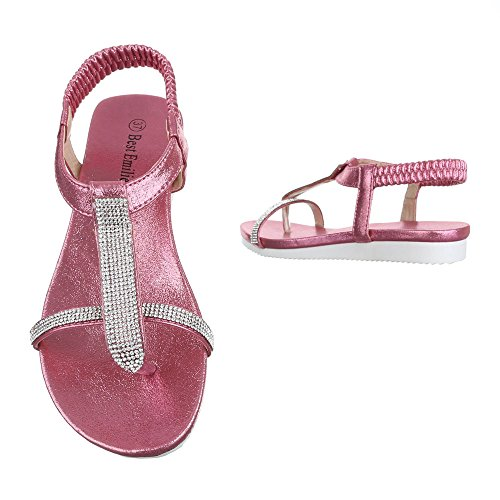 Ital-Design, Sandali donna Pink