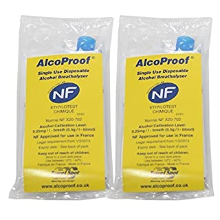 NF Approved Breathalyser by Alcoproof
