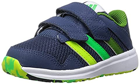 adidas Unisex Baby Snice 4 CF I Lauflernschuhe, Azul / Verde (Azumin / Limsol / Limnat), 20 EU