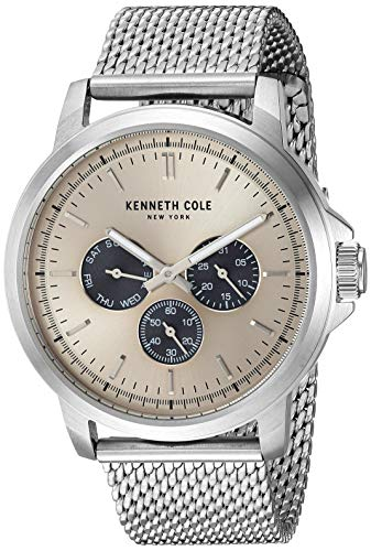 Kenneth Cole New York Men's Analog Quartz Watch with Stainless-Steel Strap KC50689002