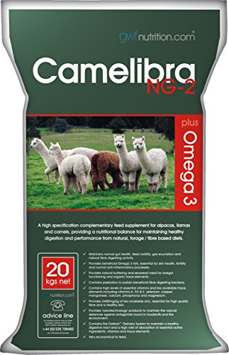 GWF Nutrition Camelibra NG-2 for Camelids, 20 kg