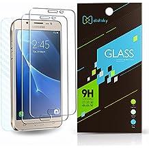 2 Pack Samsung Galaxy J5 2016 Protector de Pantalla,Didisky® Vidrio Templado Protector de Pantalla para Samsung Galaxy J5 [Toque Suave] Fácil de limpiar, Fácil de instalar