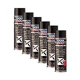 6X LIQUI Moly 6111 Unterbodenschutz Bitumen schwarz Spray Unterboden-Schutz 500m