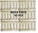 #4: Pets Empire Rawhide Pressed Chew Dog Bone Mega Pack 3 Inches 30 Pcs