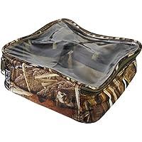 Savage Island Kleine Tackle Angeltasche/Karpfentasche mit durchsichtigem Deckel - 201
