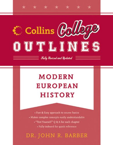 Modern European History Collins College Outlines
