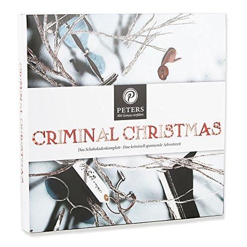 Produktbild bei Amazon - Peters Adventskalender Criminal Christmas II mit Buch, 1er Pack (1 x 255 g)