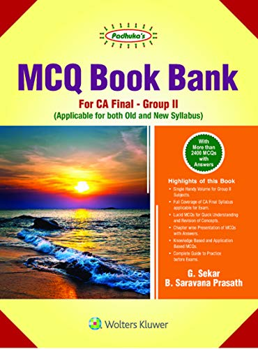 MCQ Bank for CA Final Group II