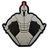 Spartan Warrior Molon Labe Morale Taktisch Tactical PVC Gummi 3D Fastener Aufnäher Patch