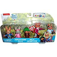 "Peter Rabbit Figures Adventure Pack - 5 figures 3"" Tall Figures incl Benjamin Bunny"