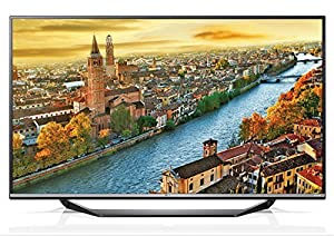 LG 55UF770V Ultra HD 4K 55 inch TV - Black (Certified Refurbished)