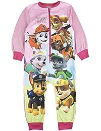 Niños niñas Forro Polar Character Onesie Pijama PJ tamaño de la UK 1–8años