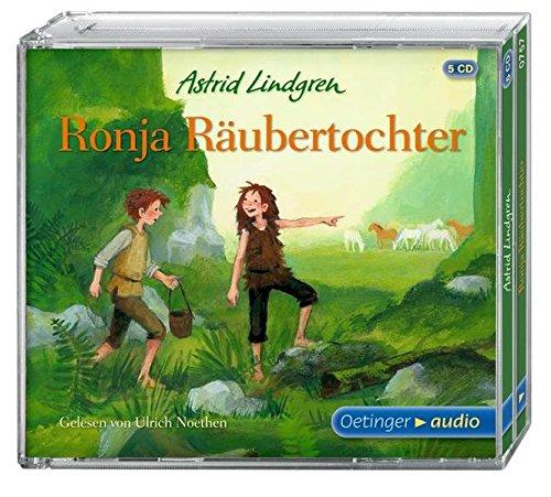 Kinder Buch Klassischen Kostüm Charaktere - Ronja Räubertochter (5 CD): Ungekürzte Lesung