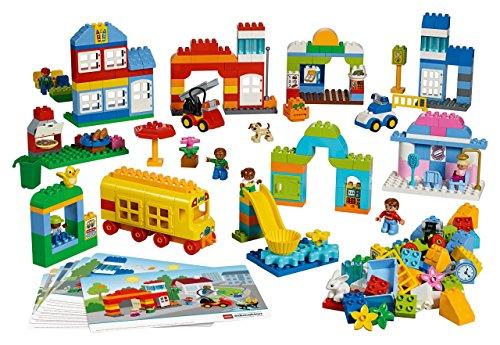 LEGO DUPLO Unsere Stadt 5021 - 278 Elemente für Kinder ab 3 Jahren!