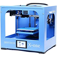 QIDI TECHNOLOGY 3D Printer, New Model: X-one, Fully Metal Structure, 3.5 Inch Touchscreen