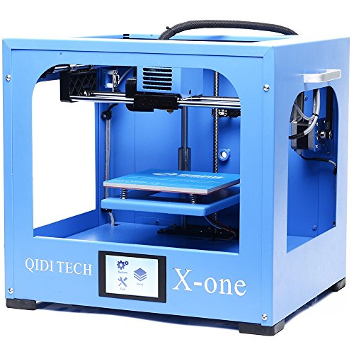 QIDI TECHNOLOGY 3D PRINTER  NEW MODEL: X-ONE  FULLY METAL STRUCTURE  3 5 INCH TOUCHSCREEN