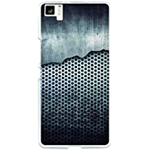 Funda Gel bq Aquaris M5 BeCool Malla de Metal