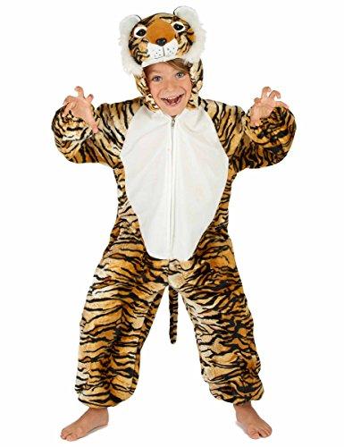 generique Costume da Tigre per bambino 5-6 anni (110-116 cm)