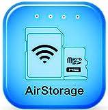 goosoo airstorage WiFi Cloud Sharing Speichermedien Aufbewahrungsbox Festplatte TF/Micro-SD-Kartenleser Datei Sharing Disk Universal WiFi USB Connect Stick Flash Drive