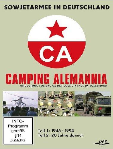 Preisvergleich Produktbild Camping Alemannia - Sowjetarmee in Deutschland