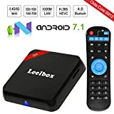 Leelbox Q3 Android 7.1 TV Box, 2GB RAM+16GB ROM Octa Core Smart TV Box de S912/Dual-WIFI de 2.4GHz y 5.8GHz/BT 4.0/1000M LAN/H.265/4K(60 HZ)
