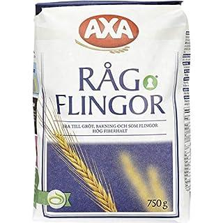 Axa Ragflingor - Rye Flakes 750g