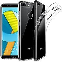 EasyAcc Huawei Honor 9 Lite Custodia, Morbido TPU Cover Cristallo limpido Trasparente Slim Anti Scivolo Protezione Posteriore Case Antiurto per Huawei Honor 9 Lite