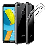 EasyAcc Huawei Honor 9 Lite Hülle Case, Dünn Crystal Clear Transparent Tasche Handyhülle Cover Soft Premium-TPU Durchsichtige Schutzhülle Backcover Slimcase für Huawei Honor 9 Lite