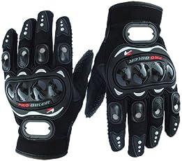 Bike/Motorcycle Riding Gloves (Black, XXl)