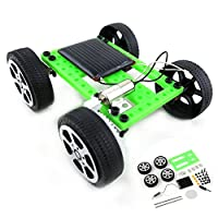 Ahagogo Green Science Solar Kit DIY Solar Power, Eco-Engineering Stem Toys Educational Gift for Kids & Teens, Boys & Girls