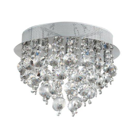 Fuloon Neu Modern Kristall-Deckenleuchte-hängende Leuchte Licht Lampe Schlafzimmer / Wohnzimmer / Esszimmer Deckenleuchten Leuchten Pendelleuchte Lampe Kristall Deckenleuchte Kronleuchter
