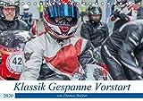 Klassik Gespanne Vorstart (Tischkalender 2020 DIN A5 quer): Klassik Motorrad-Gespanne anders als man...