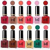 Best Nail Polish Neon Colors - MI Fashion® 12 Piece Vibrant Color Nail Polish Review