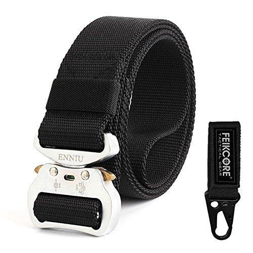 FEIKCOR Cintura tattica all aperto cintura tattica per uomo Heavy Duty  Cintura regolabile in nylon 4daa908adfb