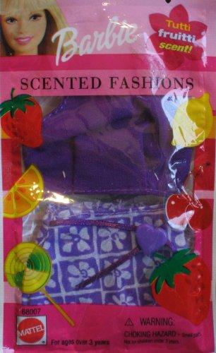 Barbie Sweet'n Pretty Fashions Tutti Frutti Scenti Green Swirl Dress