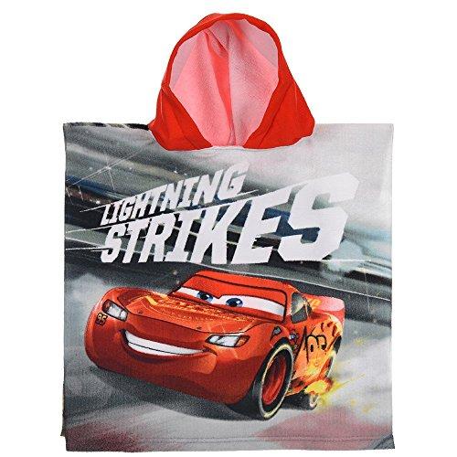 Unbekannt Poncho Meer Disney Pixar Cars Lightning Saetta McQueen BADTUCH Micro Cotton cm. 100X50 - ER1930 / 1