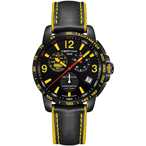 Certina DS Podium Herren-Armbanduhr 42mm Batterie C034.453.36.057.10