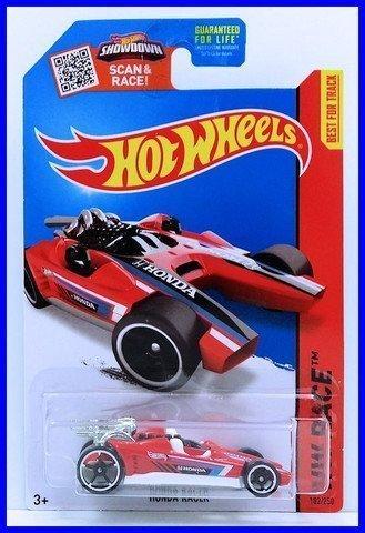 Hot Wheels Hw Race 'Honda Racer' Red - 2015 by Hot Wheels