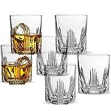 Paksh Novelty Selecta - Juego de decantador de whisky y gafas